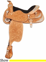 "16"" Big Horn Show Saddle 1943"