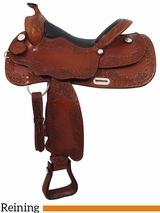 "16"" Big Horn Supreme Reiner Saddle 889"