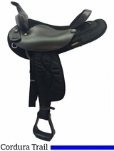"16"" Big Horn Synthetic Saddle 105 106"