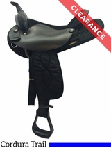 "16"" Big Horn Medium Synthetic Saddle 105 CLEARANCE"