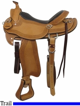 "16"" Big Horn Texas Ranger Trail Saddle 937"
