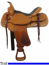 "16"" Big Horn Trail Saddle 526"