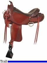 "16"" Big Horn Trail Saddle 935"
