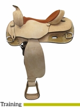 "16"" Big Horn Training Reiner Saddle 858"
