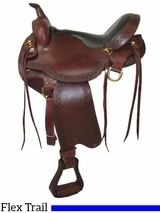 "** SALE ** 16"" to 18"" Big Horn Voyager Flex Tree Trail Saddle 1638 1639 1637"