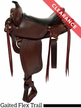 "16"" Big Horn Western Flex Gaited Saddle 1686 CLEARANCE"