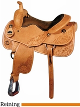 "16"" Big Horn Working Cowhorse All Around Reining Saddle 860"