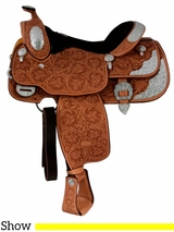 "** SALE ** 15"" 16"" Billy Cook California Show Saddle 9014"