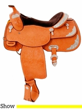 """** SALE ** 15"""" 16"""" Billy Cook Close Contact Show Saddle 2098"""