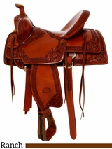 "15.5"" to 17"" Billy Cook Nebraska Rancher Saddle 2800"