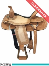 "16"" Billy Cook Texas Hold Em Wide Roping Saddle 291784 CLEARANCE"