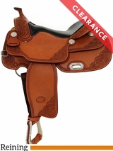 "16"" Billy Cook VC Reiner Saddle 9603 CLEARANCE"
