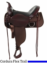 "** SALE ** 15"" to 17"" Circle Y Flex Tree Lady Trail Saddle 5901"