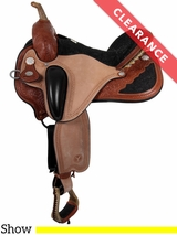 "16"" Circle Y Pam Grace Flex2 Wide Cowboy Dressage 1850 CLEARANCE"