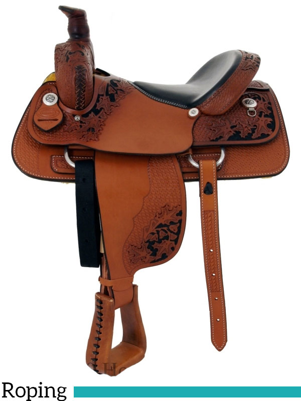 15 Quot To 17 Quot Dakota Penning Roping Saddle 9555