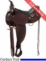 """15"""" High Horse by Circle Y Daisetta Wide Cordura Trail Saddle 6914 CLEARANCE"""