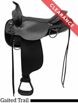 """SOLD 2017/10/16  16"""" Circle Y El Campo Cordura Gaited Trail Saddle 6970 CLEARANCE"""