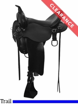 "16"" High Horse by Circle Y Little River Trail Saddle 6863 CLEARANCE"