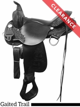 "SOLD 2017/10/14  16"" High Horse by Circle Y Round Rock Medium Gaited Trail Saddle 6870 CLEARANCE"
