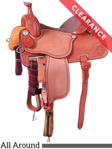 "SOLD 2017/09/19 16"" Martin Saddlery High Plains All Around Saddle 14MDS CLEARANCE"