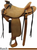 "** SALE ** 15"" to 17"" Martin Saddlery Wade Saddle mr26"