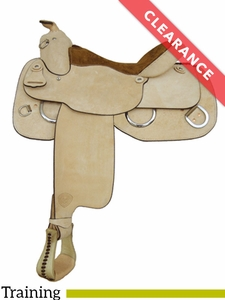 "16"" Tex Tan Reiner Trainer Medium Training Saddle 292140RO6 CLEARANCE"