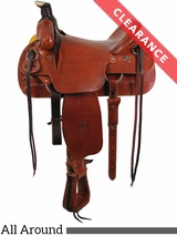 "16"" The Sagebrush Rider All Around Saddle by Colorado Saddlery 100-6327 CLEARANCE"