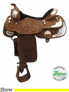 """16"""" Used Billy Cook California Wide Show Saddle 9014 usbi3397 *Free Shipping*"""