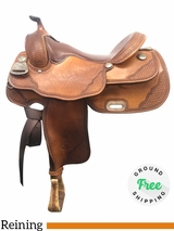 "16"" Used Billy Cook Wide Reining Saddle 9602 usbi3927 *Free Shipping*"