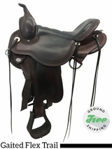 "16"" Used Circle Y Julie Goodnight Blue Ridge Medium Gaited Flex2 Saddle 1751 uscy3771 *Free Shipping*"