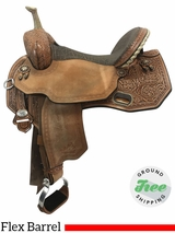 """SOLD 2017/06/16  16"""" Used Circle Y Martha Josey Wide Flex2 Ultimate Barrel Racer 1185 uscy3786 *Free Shipping*"""