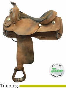 "16"" Used Dakota Medium Training Saddle 920 usdk3827 *Free Shipping*"