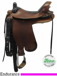 "SOLD 2017/10/26  16"" Used Ortho Flex Medium Endurance Saddle LTR-160 usof3484 *Free Shipping*"