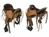 "16"" Used Synergist Saddles Medium-Wide Trail Saddle ussy3630 *Free Shipping*"