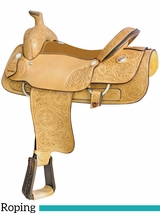 "** SALE ** 17"" 18"" Billy Cook Big Boss Roping Saddle 291765"