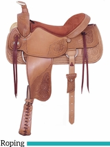 "17.5"" American Saddlery Pro-Dally II Roper Saddle 1865"
