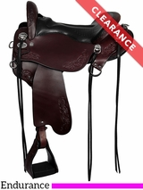 "17.5"" Tucker Horizon Outpost Endurance Saddle 179 CLEARANCE"
