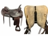 """SOLD 2017/09/08  17.5"""" Used Big Horn Extra Wide Draft Trail Saddle 1683 usbh3813 *Free Shipping*"""