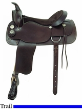 "** SALE ** 17"" American Saddlery Trail Master Saddle 1344"