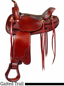 "** SALE ** 17"" Big Horn Tennessee Walking Horse Saddle 1700"