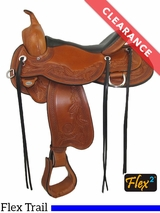 "15.5"" Circle Y Julie Goodnight Monarch Flex2 Arena Performance Saddle 1752 CLEARANCE"