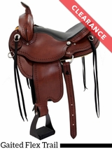 "16"" Dakota Gaited Flex Trail Saddle 211 CLEARANCE"