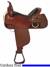 "18.5"" High Horse by Circle Y Big Rock Cordura Trail Saddle 6923 w/$105 Gift Card"