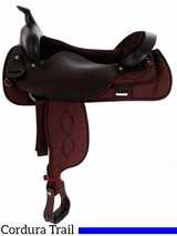 "** SALE ** 16""-19"" Big Horn Synthetic Trail Saddle 256"