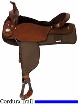 "** SALE ** 19"" Fabtron The Big 'Un Trail Saddle, Extra Large Seat 7136"