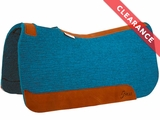 "5 Star ""The Performer"" Full Skirt Turquoise Saddle Pad 32""L x 32""D CLEARANCE"