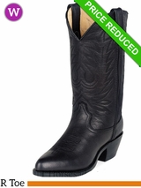 9.5 Medium Durango Women's Black Leather Western Boot rd4100 CLEARANCE