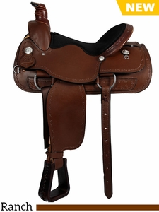 American Saddlery Lexie Collection A-Fork Ranch Saddle 602
