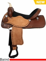 "** SALE ** 12"" to 16"" American Saddlery Lexie Collection Barrel Saddle 600"