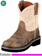 Kid's Ariat Brown Bomber Fatbaby Boots 10001995